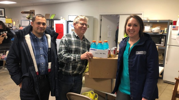 NuWave donates to CALL Food Pantry